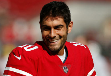 Jimmy G: 49ers