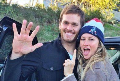 Tom Brady's Hand