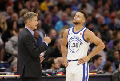 Steve Kerr - Steph Curry