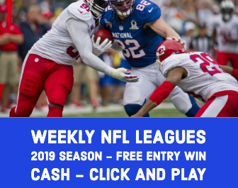 2019 NFL free weekly sports betting leagues