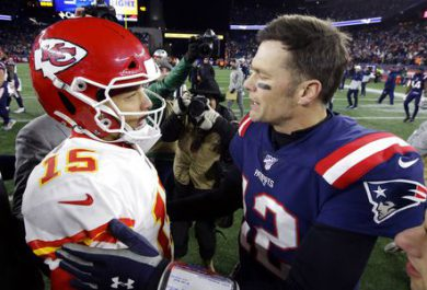 brady gives mahomes advice
